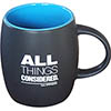 All Things Considered® Blue Interior Ceramic Mug (Custom) Thumbnail
