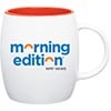Morning Edition® White Ceramic Mug Thumbnail
