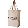 ECOBAGS® Recycled Cotton Canvas Tote - Natural Thumbnail