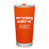 Morning Edition® 20 Ounce Orange Thermal Tumbler Thumbnail