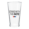 NPR® Stand with the Facts Pint Glass Thumbnail